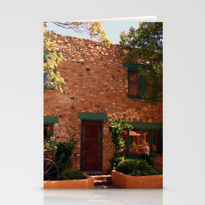 Old Town Santa Fe >> Alley In Old Town Santa Fe Stationery Cards By Christianeschulze