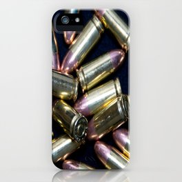 Cluster of 9mm Ammo iPhone Case