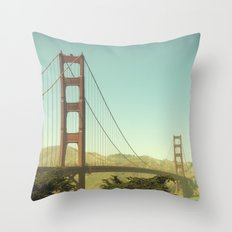 Golden Gate Bridge Throw Pillow