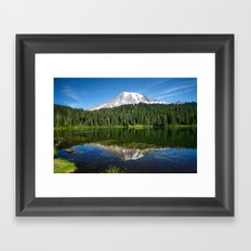 Reflection Lake Framed Art Print