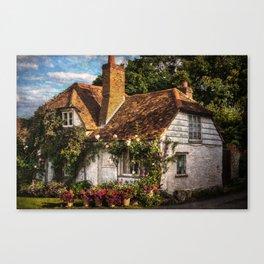 A Chiltern Cottage Canvas Print