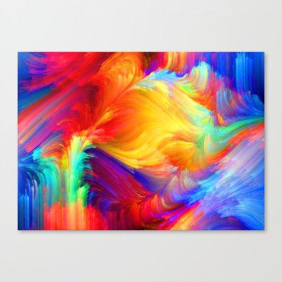 Summer colors Canvas Print