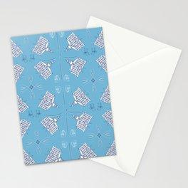 SJC Toile Stationery Cards