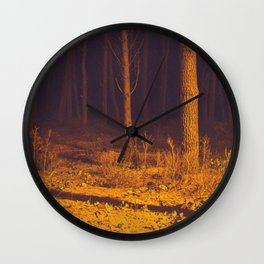 Orang forest Wall Clock