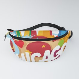 Chicago Illinois Fanny Pack