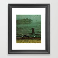 the rainy season Framed Art Print