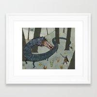 beast Framed Art Prints featuring Beast! by Joe Lillington