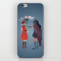 calcifer iPhone & iPod Skins featuring The Secret World by CromMorc