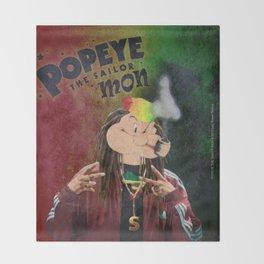 POPEYE THE SAILOR MON - 018 Throw Blanket