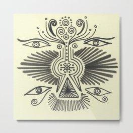 Angel Burst Metal Print