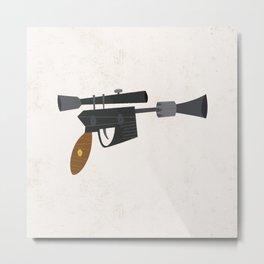 DL-44 Heavy Blaster Pistol Metal Print