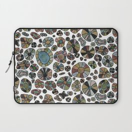 Barca Dots Pattern brown/grey Laptop Sleeve
