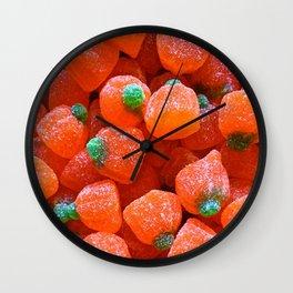 Pumpkin Candy Wall Clock