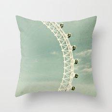 London-eye Throw Pillow