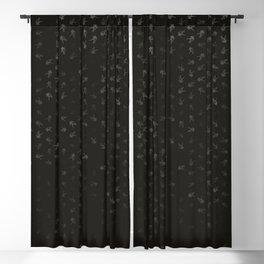 aquarius zodiac sign pattern ap Blackout Curtain