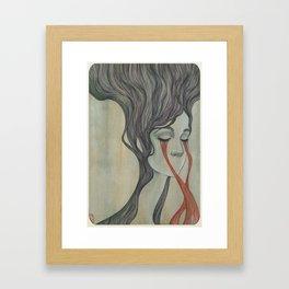 Former Flower Framed Art Print