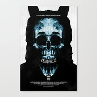 donnie darko Canvas Prints featuring Donnie Darko by Duke Dastardly