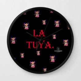 La Tuya. Wall Clock