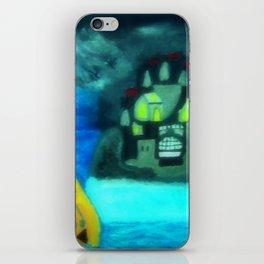 Mermaid In Thunderstorm iPhone Skin