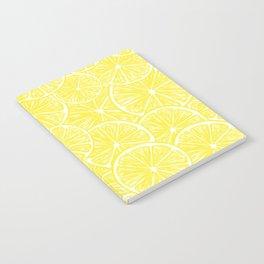 Lemon slices pattern design Notebook