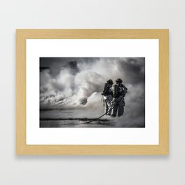 Firemen Framed Art Print