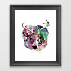 Half n Half Framed Art Print