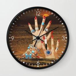 Non-Renewable Brats Wall Clock