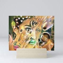 Make Me Up 5 Mini Art Print