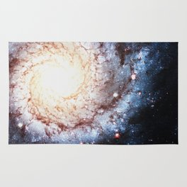 Colorful Cosmos - Spiral Rug