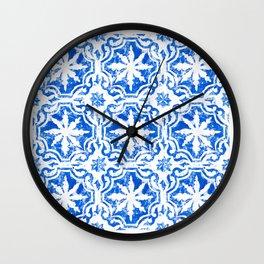 Hampton blue Wall Clock