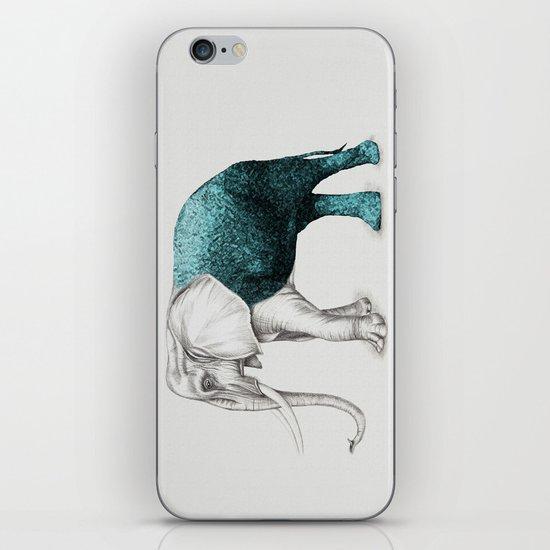 The Stone Elephant iPhone & iPod Skin