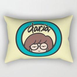 Daria Logo Rectangular Pillow