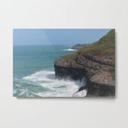 Kauai Seascape Metal Print
