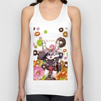 donuts Tank Tops featuring Donuts by Coralus