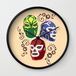 Máscaras Wall Clock