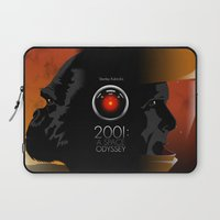 2001 a space odyssey Laptop Sleeves featuring 2001 - A space odyssey by Martin Woutisseth
