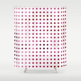 Polka Dot-Red Shower Curtain