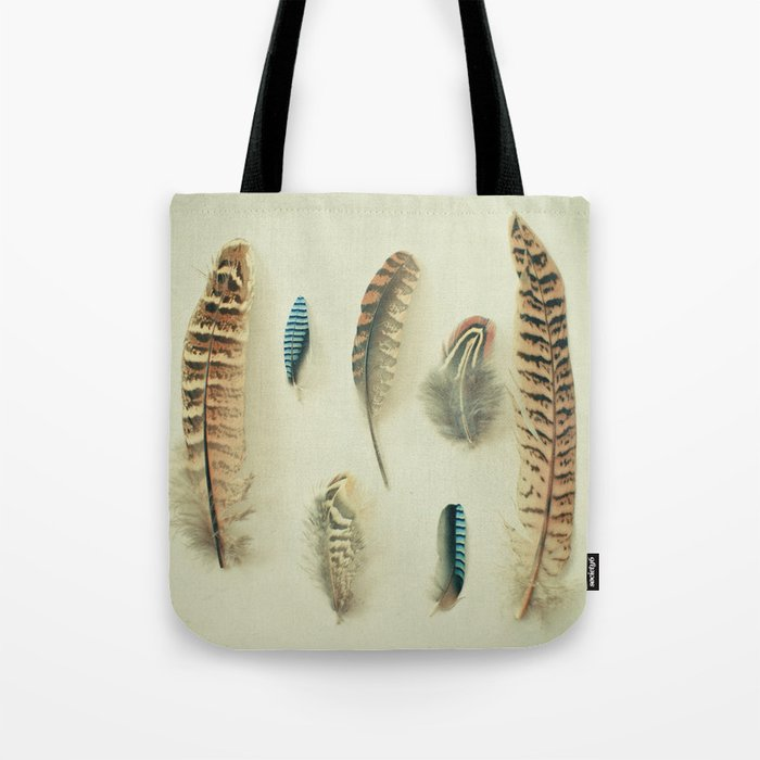 The Feather Collection Tote Bag