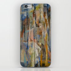 Wild Horses Abstract iPhone & iPod Skin
