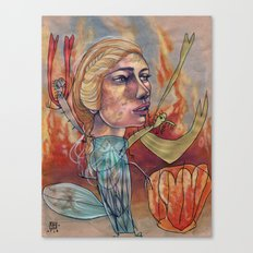 DRAGON MAMA Canvas Print