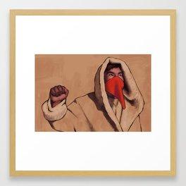 At Standing Rock 6 Framed Art Print