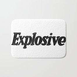 Explosive Bath Mat