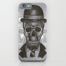 Worked To Death (Grey version) iPhone 6s Slim Case