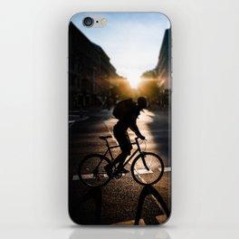Cycling in Berlin iPhone Skin