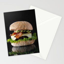 Beautiful Food by Quiony Navarro Stationery Cards