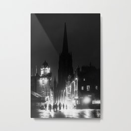esplanade to castle hill | edinburgh Metal Print