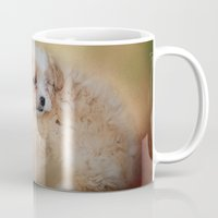 best friends Mugs featuring Best Friends by Jai Johnson