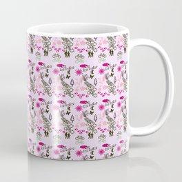 Evening Walk Canvas texture print Coffee Mug