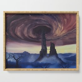 The Vortex - A Borderlands 2 Inspired Oil Painting Serving Tray