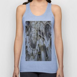 Cathedral Architecture Art Unisex Tank Top